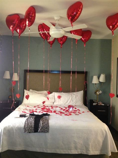 how to surprise your boyfriend in the bedroom valentines surprise hotel room for boyfriend or hubby he
