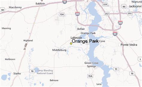 weather in orange florida orange park weather station record historical weather
