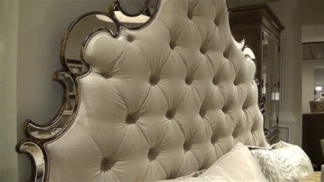 sanctuary tufted fabric bed  hooker furniture   home gallery stores youtube
