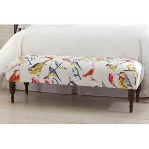Fabric Bench For Bedroom Skyline Furniture Tufted Bedroom Bench Reviews Wayfair
