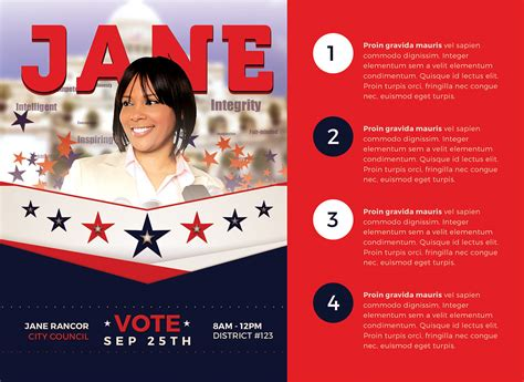political brochure template political flyer template 5 flyer templates on creative