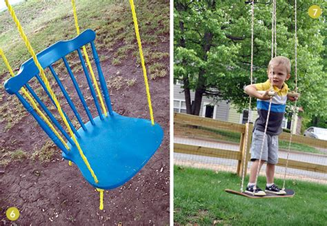 diy swing creative diy backyard swings diy interior design blog