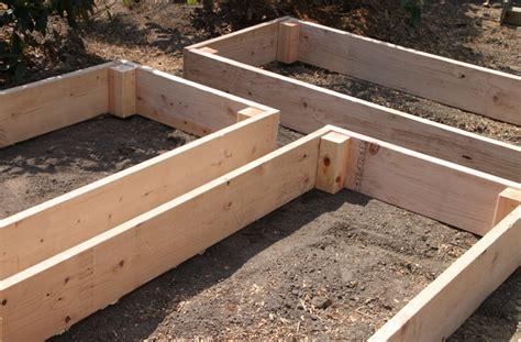 Easy Raised Garden Bed Ideas Easy Diy Raised Garden Beds Tilly S Nest