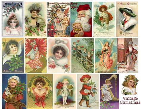 Imagenes Navideñas Retro | postales vintage de navidad blogodisea