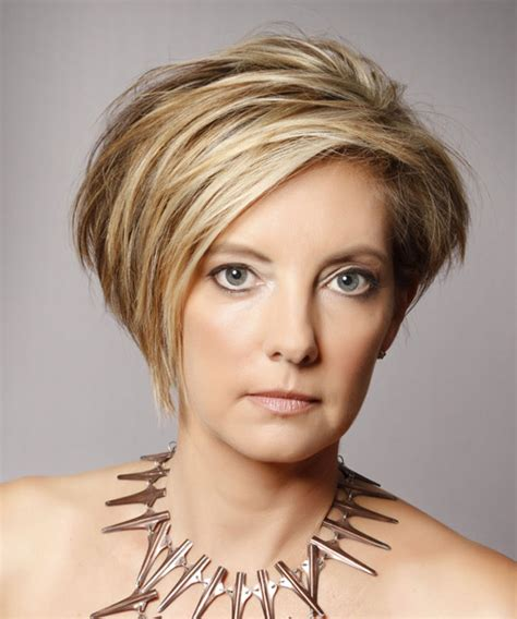 casual updos over 40 short straight casual hairstyle dark blonde