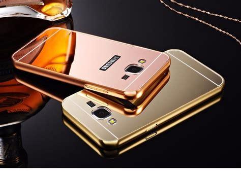 Samsung J7 Prime Luxury Bumper Mirror Elegan funda espejo de lujo para galaxy grand prime la mejor