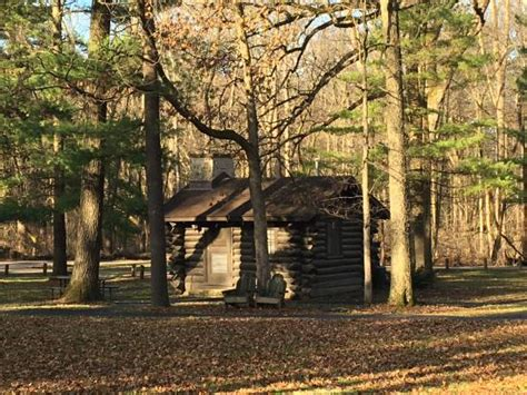 White Pines Cabins Il by Taken From The Trails Picture Of White Pines Forest