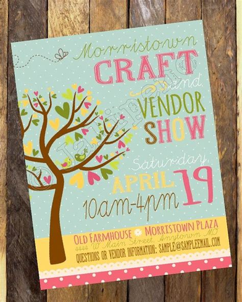 42 Best Images About Posters On Pinterest Renegade Craft Fair Screenprinting And Summer Craft Fair Poster Template Free