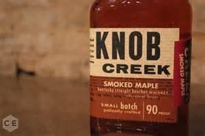 knob creek smoked maple bourbon review
