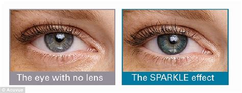 define person of color contacts lenses that define border of iris take years