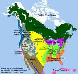 Biome Map Of North America by Desert Biome Location Map Desert Get Free Image About