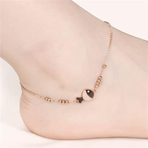 Gelang Kaki Silver Color Ka15903 Berkualitas ankle bracelets promotion shop for promotional ankle