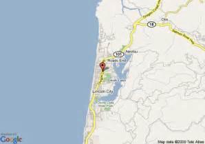 map of surfrider resort lincoln city