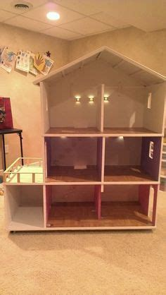 barbie doll house homemade how to build a barbie doll house out of wood google search doll house pinterest