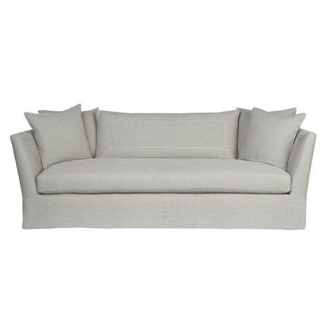 grey linen sofa seda light grey linen coastal style feather down slip