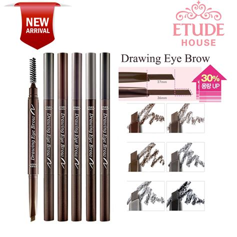 Etude Palsu new etude house drawing eye brow more longer elevenia