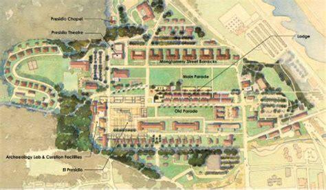 san francisco map presidio presidio map san francisco