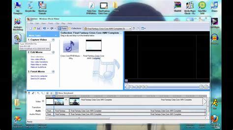 Windows Movie Maker Amv Tutorial | how to use windows movie maker to make an amv youtube