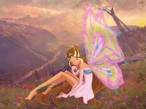 flora the art of flora from winx club images flora enchantix hd wallpaper and background photos 37540632