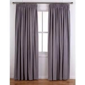 buy colourmatch pencil pleat curtains 117x137cm smoke