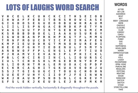 Word Search - word search puzzle