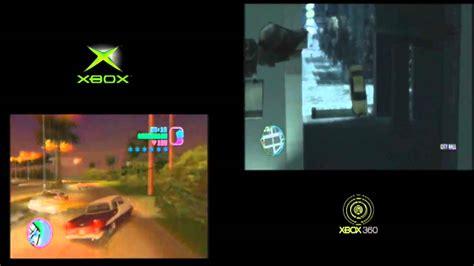 Xbox One Gta V Originall xbox 360 vs xbox classic gta vice city vs gta 4 720p