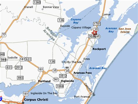 rockport texas map rockport tx pictures posters news and on your pursuit hobbies interests and worries
