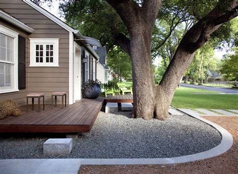 floating front yard deck and landscape outdoors pinterest