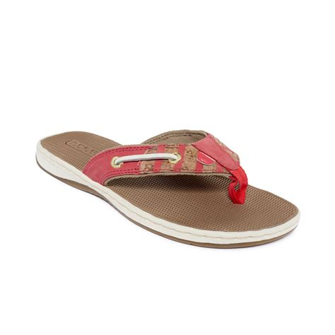 sperry top sider sandals womens sperry top sider womens seafish sandals in pink