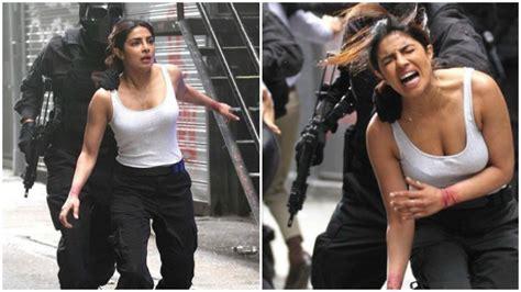 priyanka chopra hollywood movie action see pictures priyanka chopra shoots an action packed