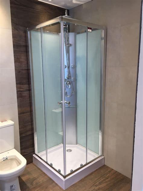 cabinas de ducha cabina de ducha c panel hidro 80x80 recto ceramicas