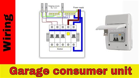 mk consumer unit wiring diagram mk garage consumer unit