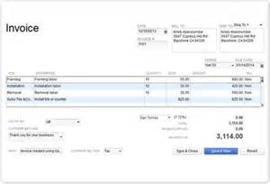 custom quickbooks invoice templates make an invoice receipt and invoice software