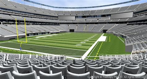 Metlife Stadium Section 148 by Interactive Map For Metlife Stadium Quotes