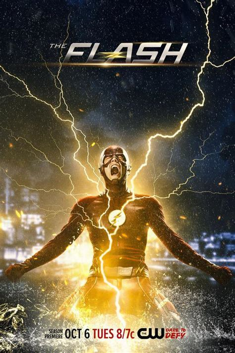 The Flash 2 grant gustin reveals new poster for the flash season 2 we