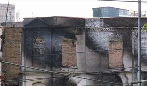 london riots: gordon thompson admits burning down reeves