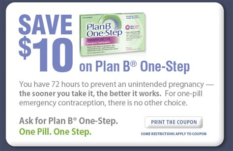 coupons for day after pill
