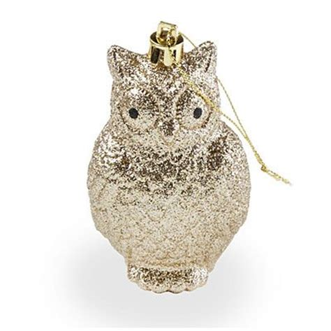 big lots ornaments these are adorable biglots gold glitter owl