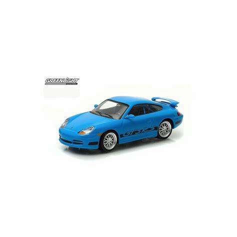 Greenlight Scale 143 Brians 2001 Porsche 911 Gt3 Rs greenlight fast furious 2001 porsche 911 gt3 rs