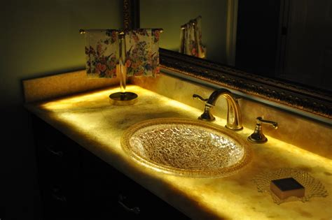 onyx bathroom countertops glowing onyx vanities
