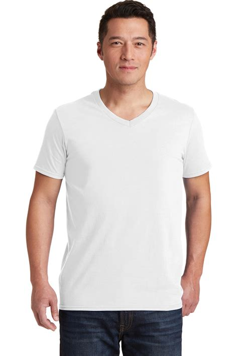 gildan softstyle v neck t shirt s sportwear