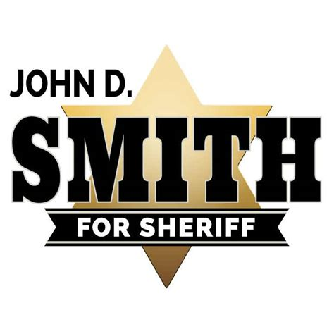 creating your sheriff campaign logo