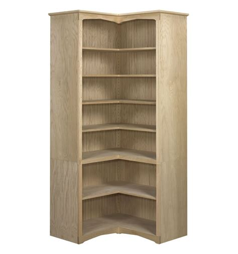 Bookcases Corner Federal Corner Bookcases Open Awb Bk6 Wood You Furniture Jacksonville Fl