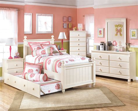 youth bedroom sets cottage retreat youth poster trundle bedroom set from 13896 | b213 21 35 46 t pst 50 92 a sd 3