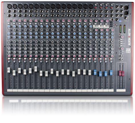 Mixer Allen Heath Zed 16 allen heath zed 24 mixing desk mixer zed2402x 16 mic 4