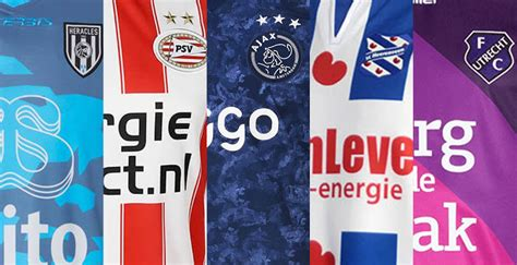 different manufacturers and looks 15 different brands for 18 teams 2017 18 eredivisie kit
