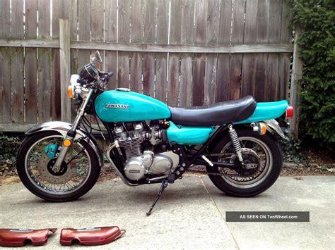 Vintage Kawasaki by 1974 Kawasaki Z1 900 Vintage Motorcycle Clear Title