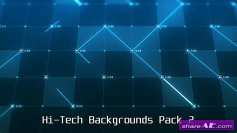 Videohive Hi Tech Backgrounds Pack 2 Motion Graphic 187 Free After Effects Templates After Free Motion Graphics Templates