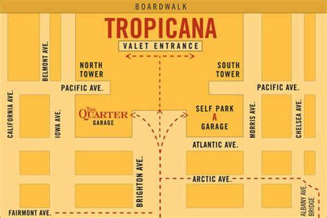 hotel layout atlantic city tropicana resort atlantic city casino parking