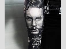 James Hetfield tattoo by Andrey Kolbasin | Post 14374 James Hetfield Tattoos 2017